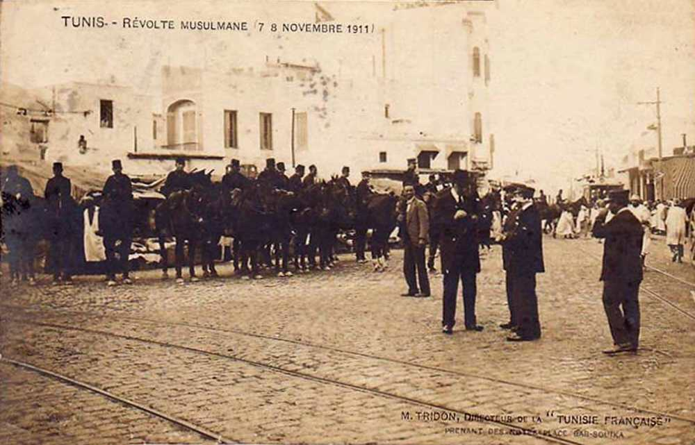 Tunis - Unruhen am 7./8. November1911